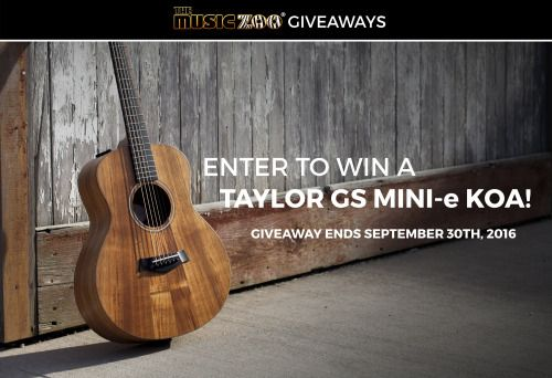 Enter To Win A Gs Mini E Koa Acoustic Guitar Us Ends Sweepstakes Ifttt Reddit Giveaways Freebies Contests Guitar Giveaway Sweepstakes
