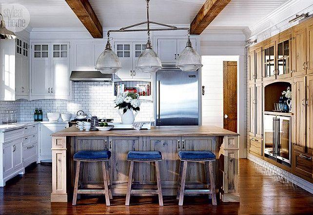 Beau Beach Style Kitchens Extraordinary With Lake Muskoka Cottage With Coastal  Interiors Home Bunch | Cindi Needs A Kitchen Island | Pinterest | Coastal,  ...