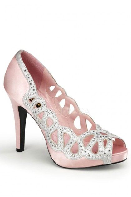 1a5b9634917 pink and silver heels