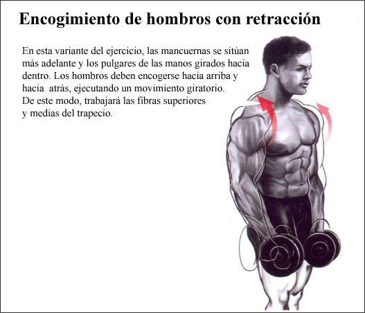 ejercicios para fortalecer espalda con mancuernas