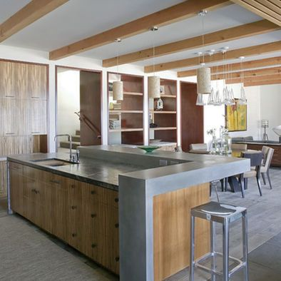 Side Counter Idea Open Kitchen And Stuff Contemporary Kitchen Island Open Plan Kitchen Living Room Kitchen Island Bar