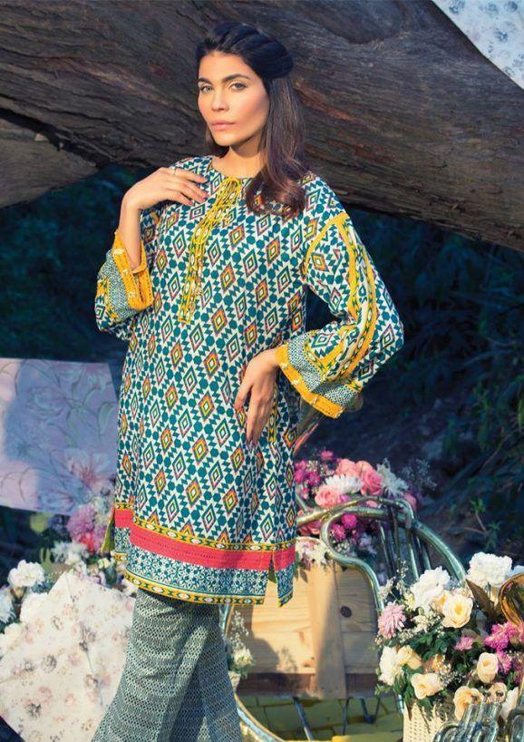 Pin by Fazeela Hussain on Designer Summer Lawn Dresses | Pinterest ...