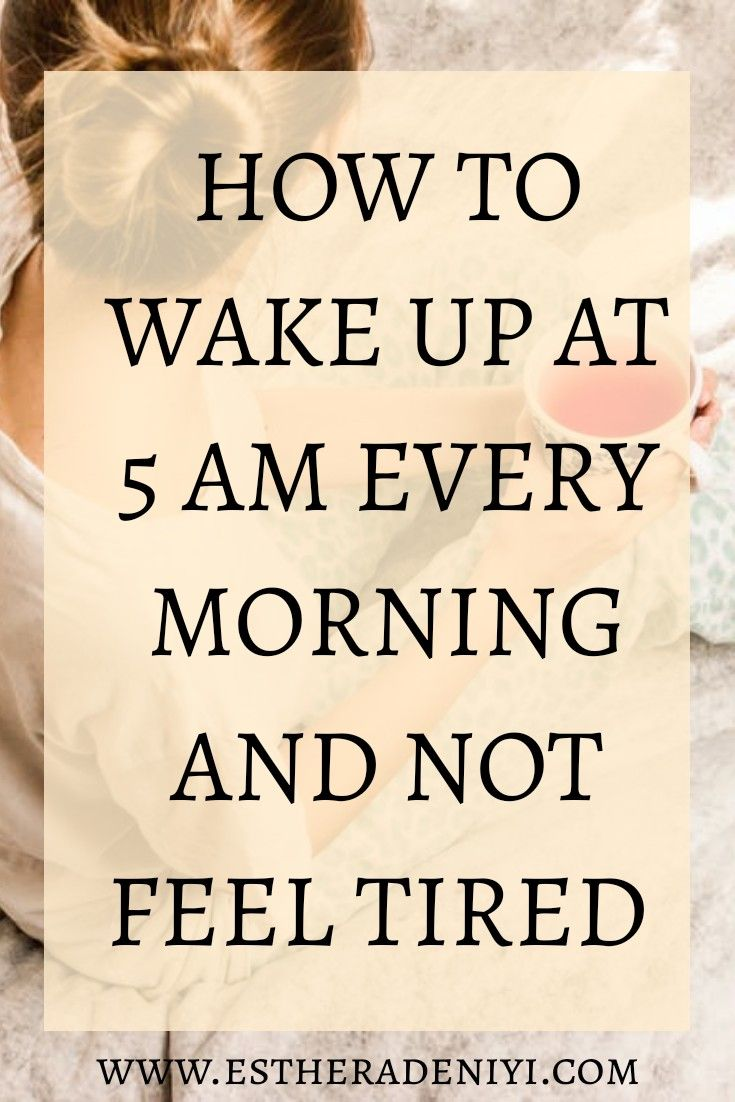 How to supercharge your mornings and banish morning fatigue