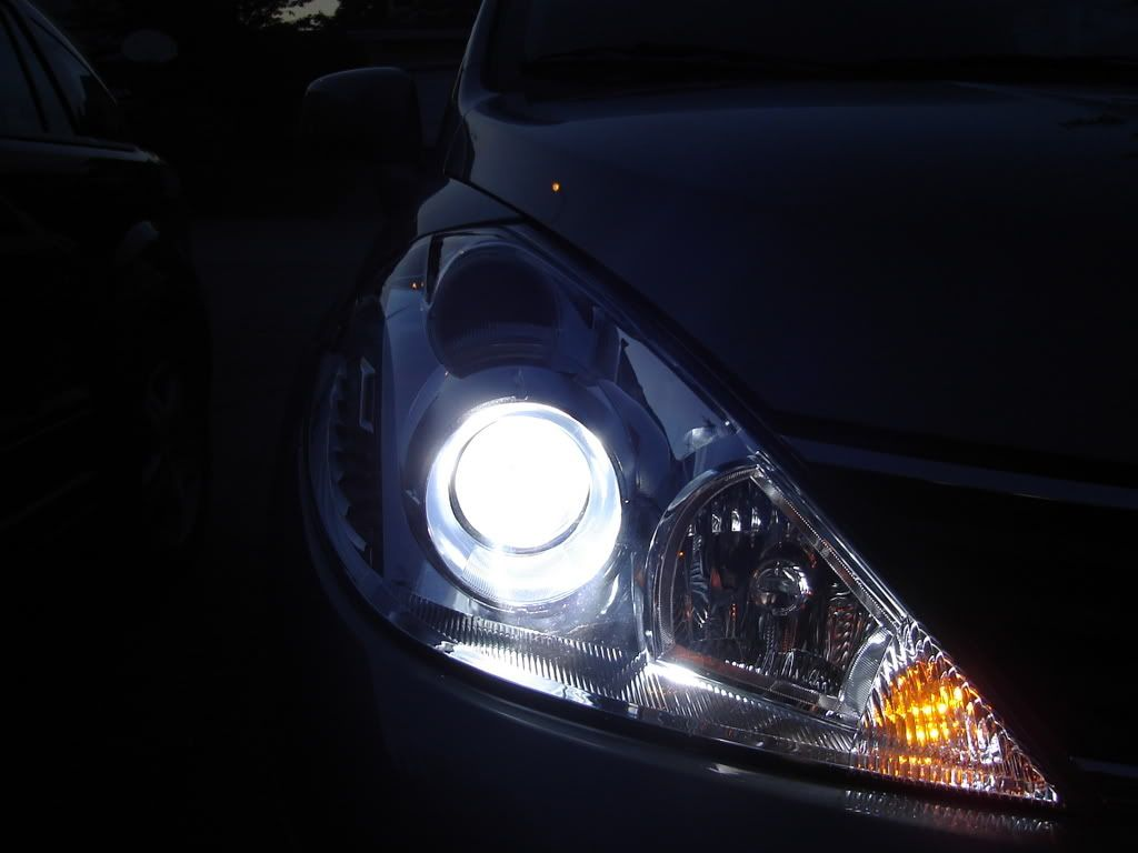 Just couple pix of my car with jdm headlights let me what you guys think i m putting it on sale at versa tiida jdm parts sale exterior for sale