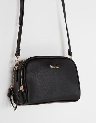 Mini saffiano bag - NEW COLLECTION - Bershka Romania