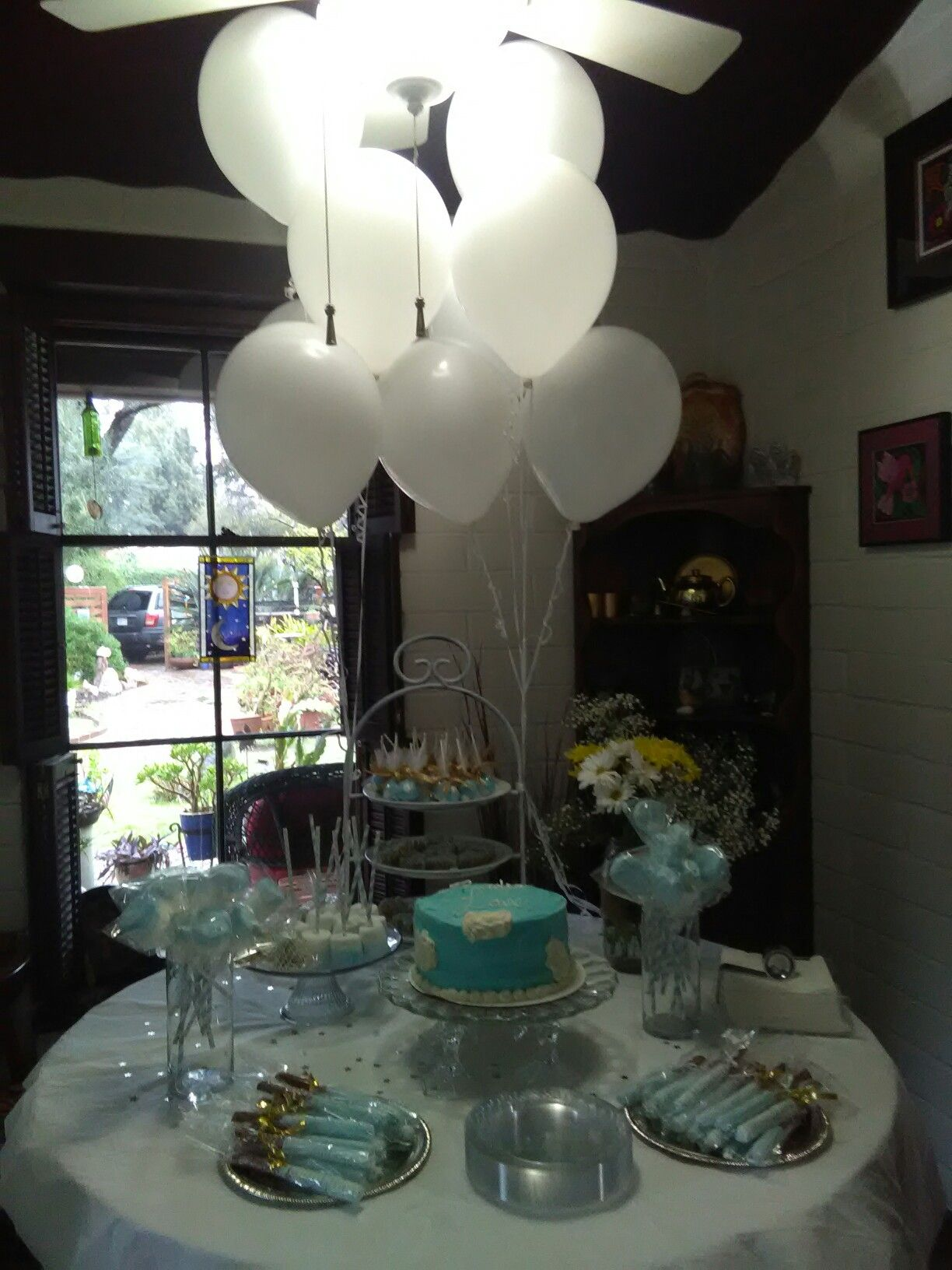 Heaven sent themed baby shower gender neutral (With images