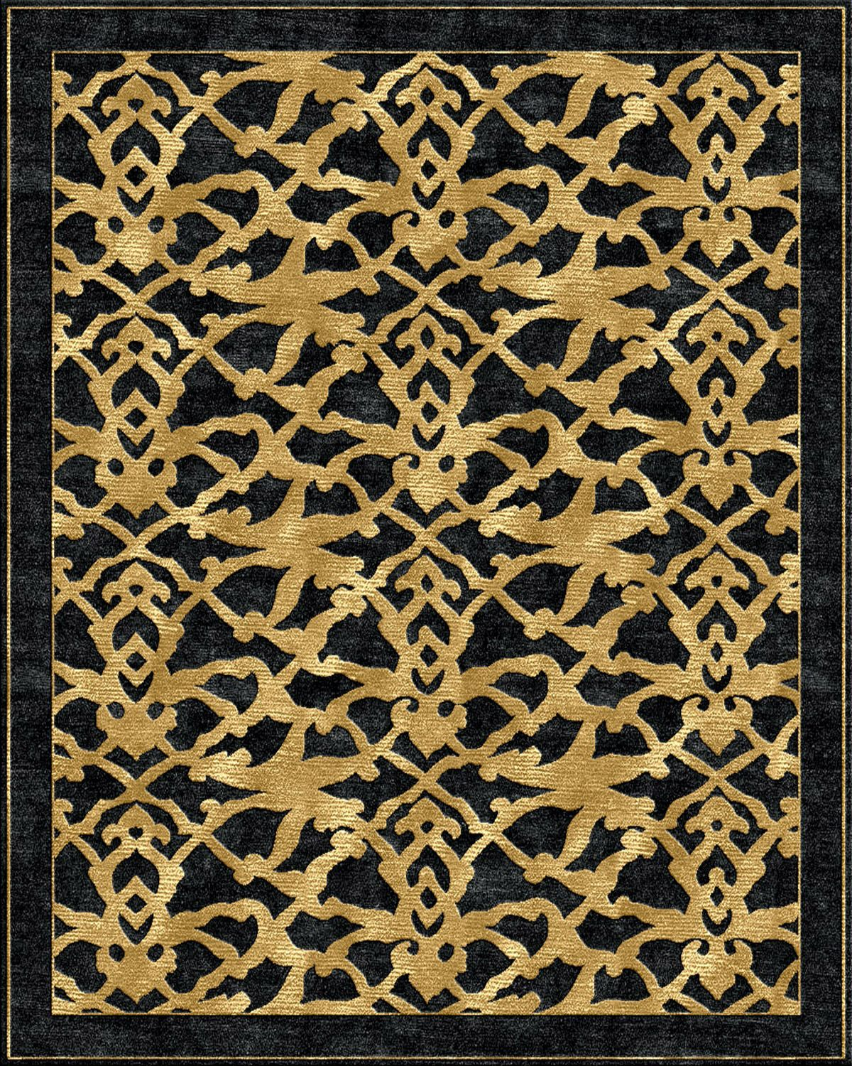 Arabesque   Gold Rug