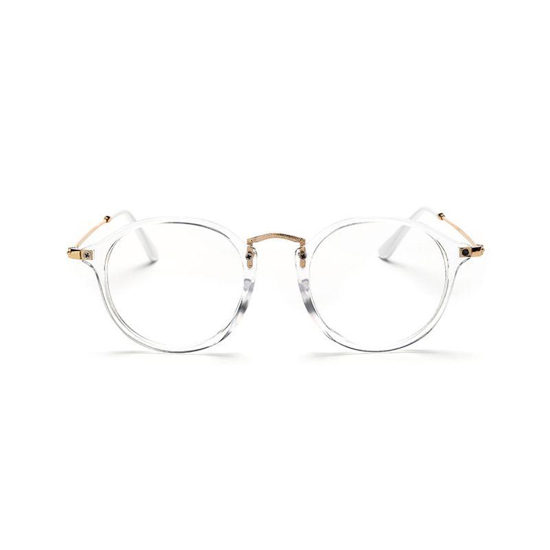 Clásico de La Vendimia Gafas Redondas Gafas de sol Unisex Nerd Gafas ...