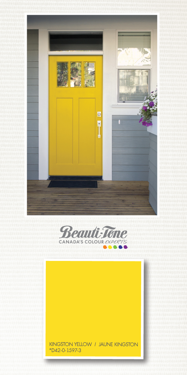 Your home will look like a million bucks with a bright Kingston #yellow # door & Your home will look like a million bucks with a bright Kingston ... pezcame.com