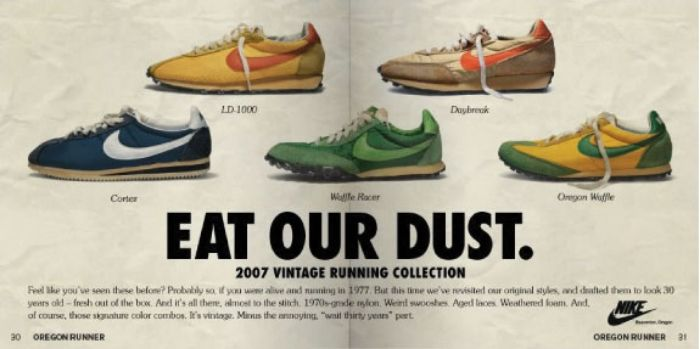 Nike Claims Ownership of the Word
