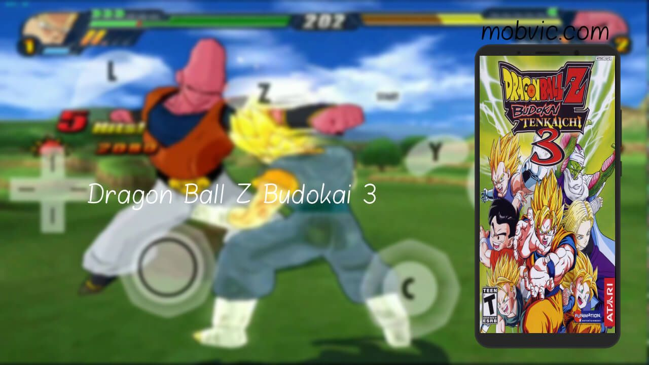 تحميل لعبة دراغون بول بودوكاي تينكايشي 3 للاندرويد Dragon Ball Z Budokai من ميديا فاير Dragon Ball Z Dragon Ball Ball