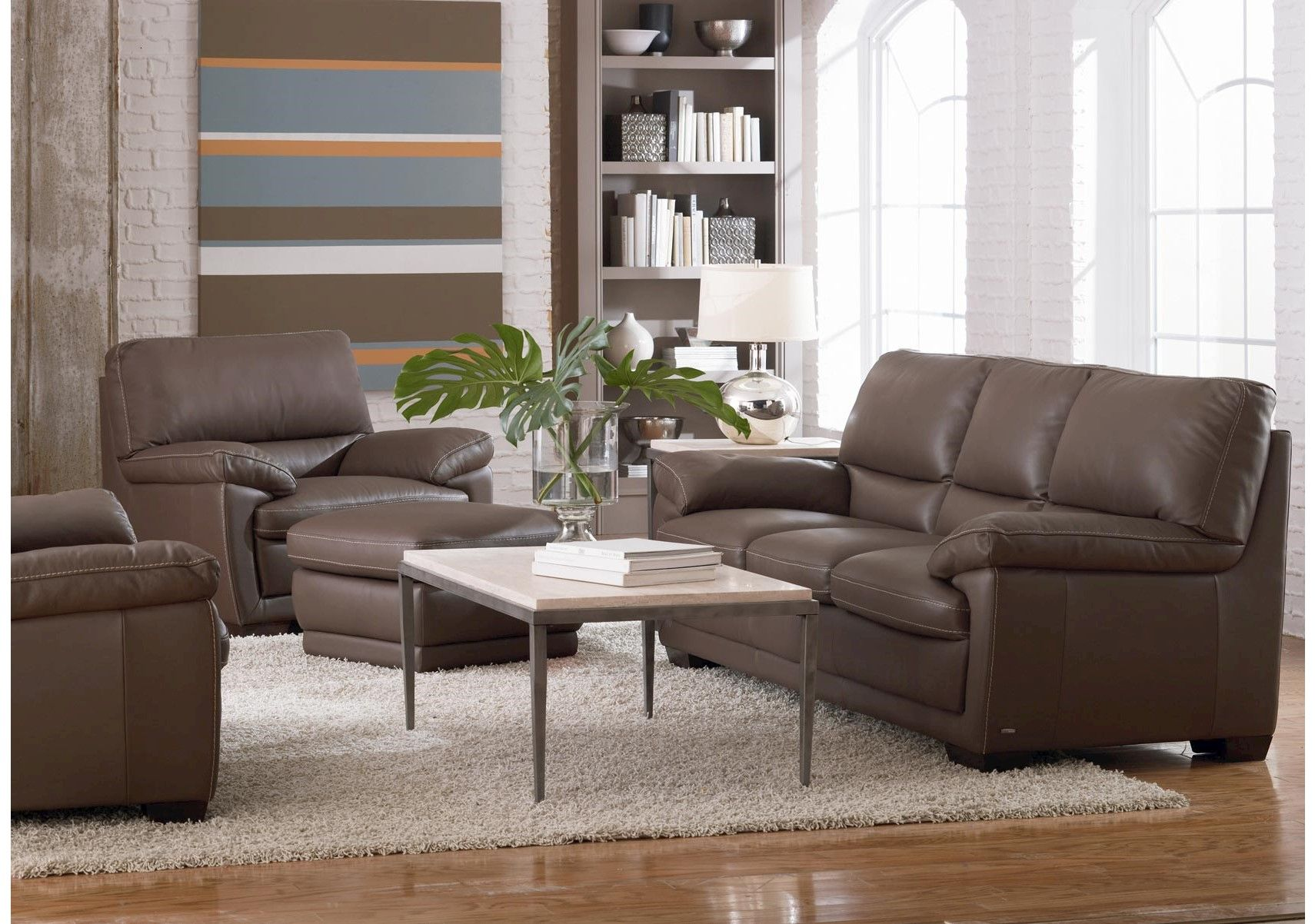 For Denver Leather Sofa Dark Taupe And Other Living Room Sofas At Star Furniture Tx Sleek Natuzzi Comes In Mushroom Color