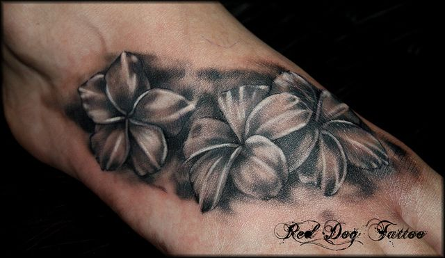 Classy Unique Tattoo Designs for Women | Shaded Flowers ...