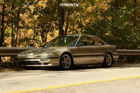 1990 Acura Integra 16x7 35mm Enkei Rp01 In 2020 Online Cars Car Acura Integra