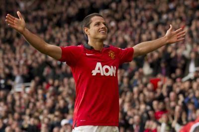 Chicharito da el triunfo al Manchester United en la liga.