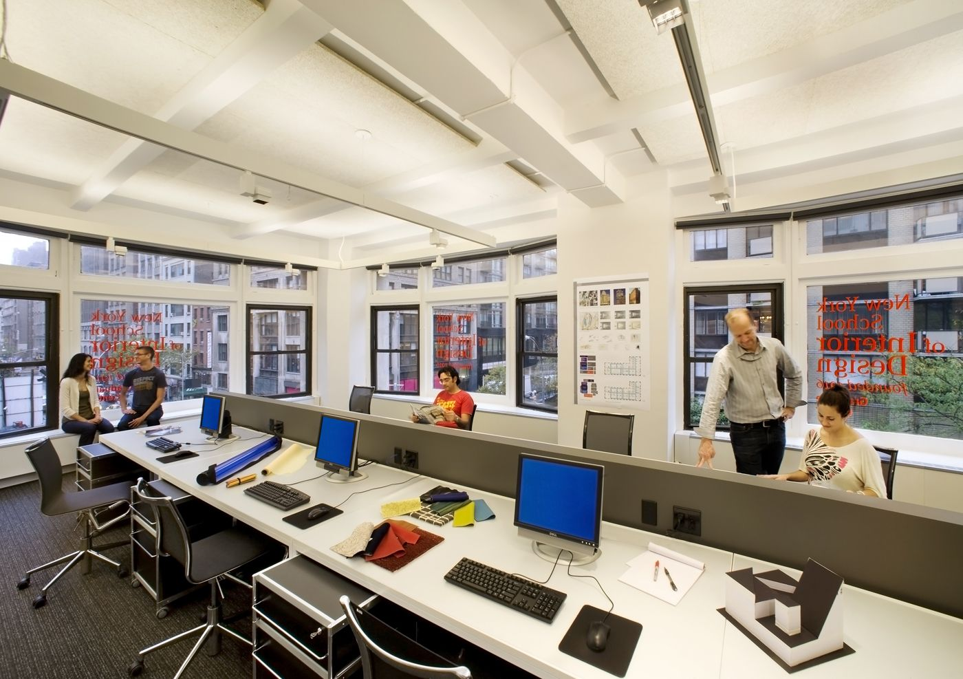 New York School Of Interior Design NYSID Recently Completed Its Graduate Center At 401 Park Avenue Street NYC