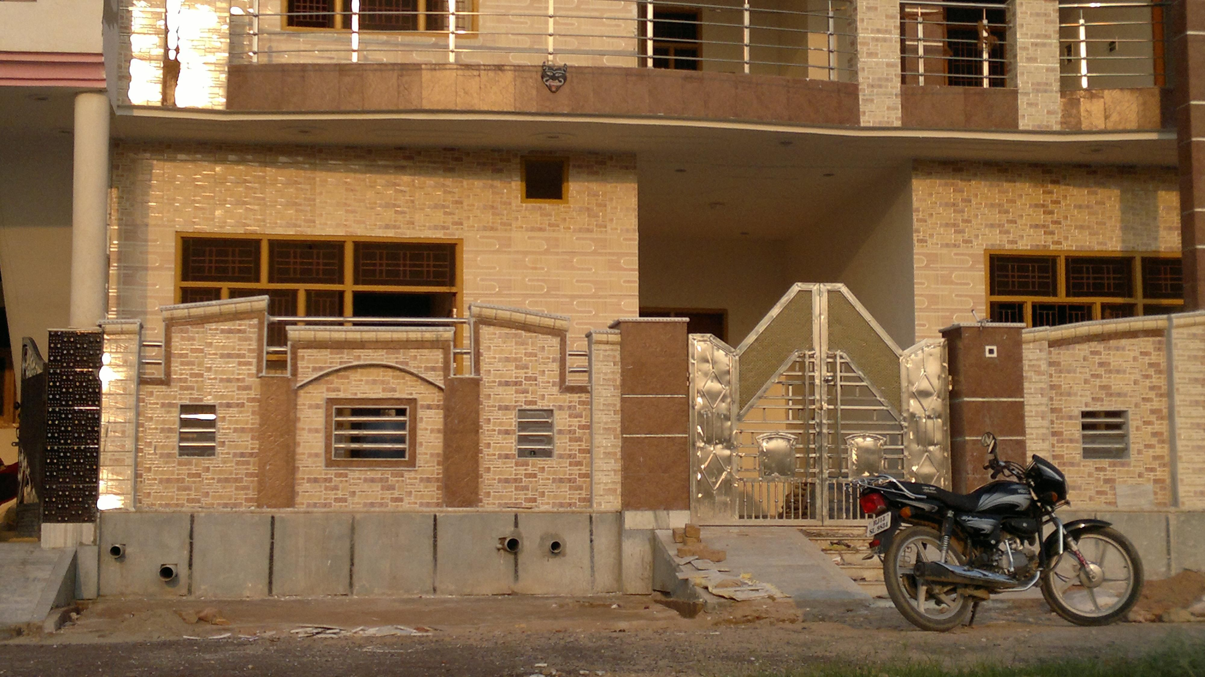 Front House Boundary Walls House Wall Design Fence Wall Design Boundary Walls