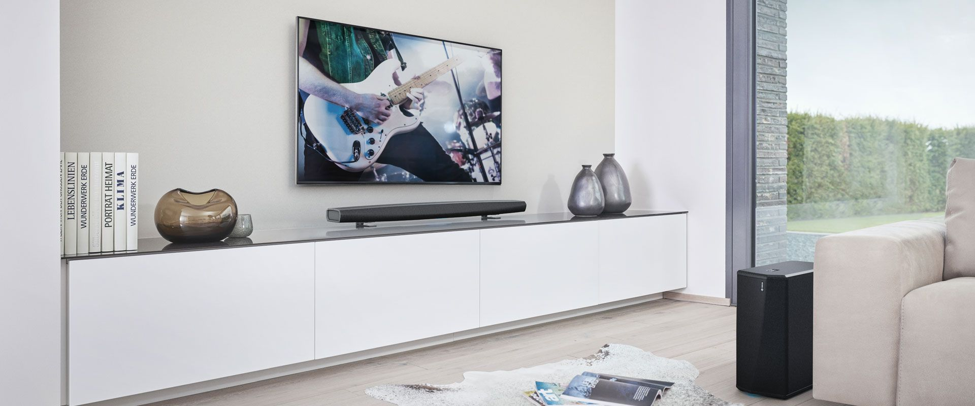 Zet het volume van uw home theater met een soundbar | Audio Systeem ...