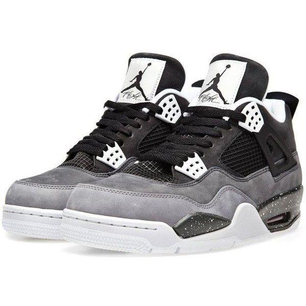 f210ea1a222b Nike Air Jordan IV Retro  Fear  (Black