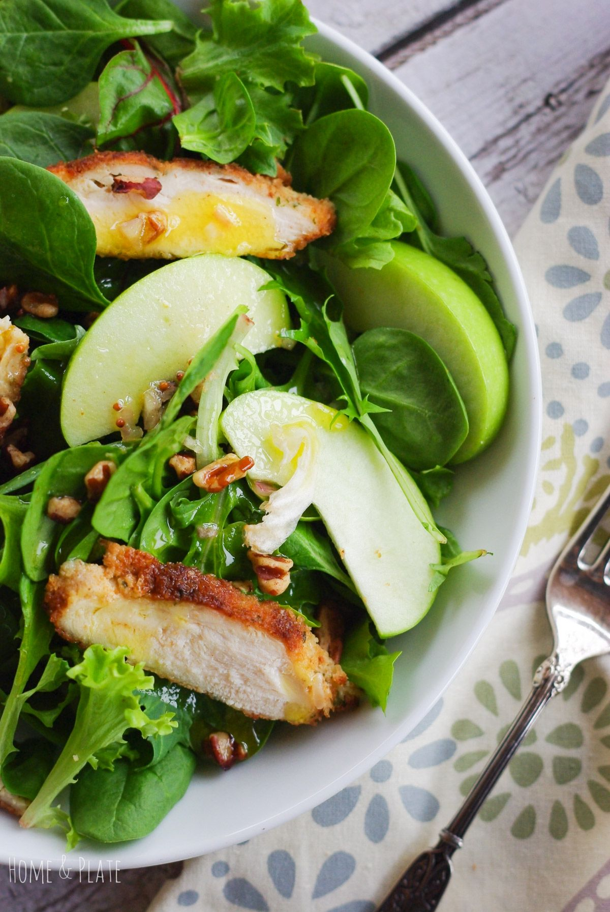 Granny Smith Apple Pecan Chicken Salad Recipe (With