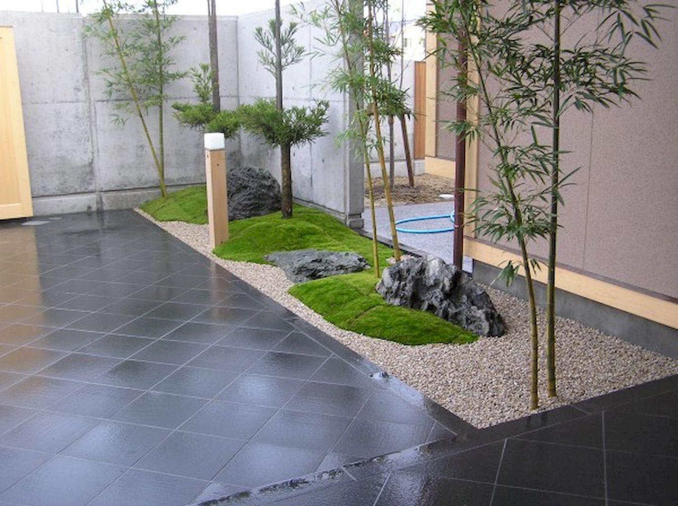 30 Simple & Modern Rock Garden Design Ideas Front Yard ...