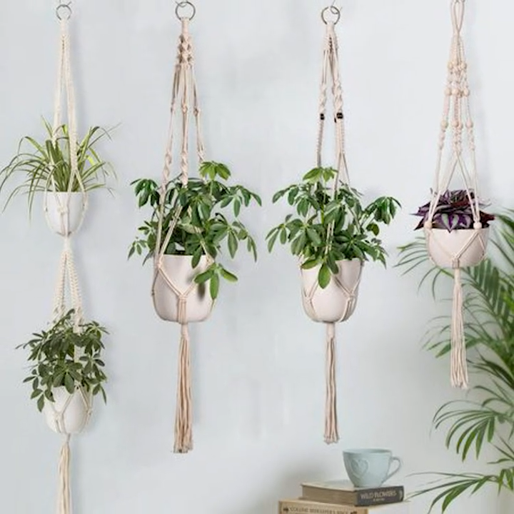 Photo of Handmade Macramé Hangers