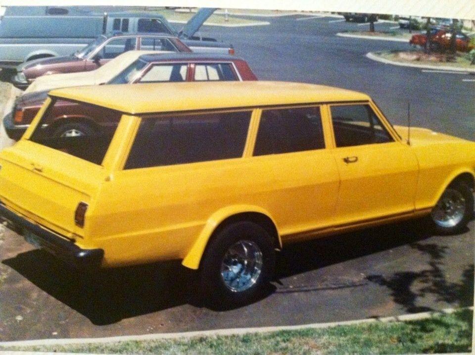 This was my old school hot rod. 64 nova wagon. | Hot rods | Pinterest