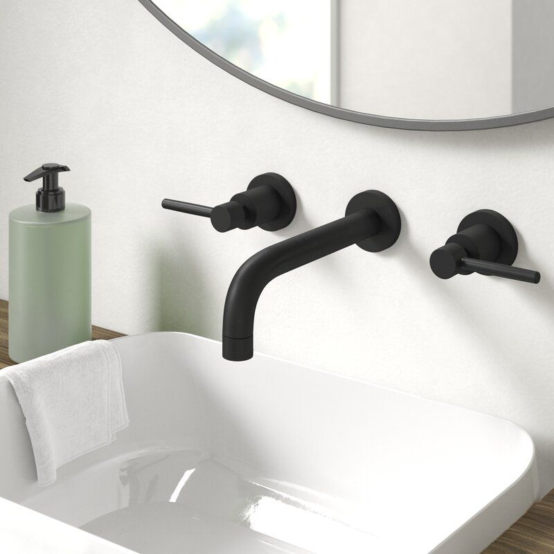 Concord Wall Mount Bathroom Faucet In 2020 With Images Wall
