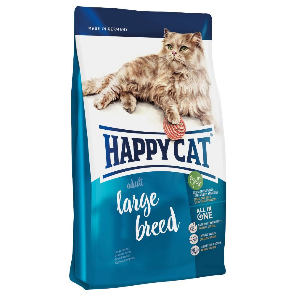 Animalerie  Happy Cat Adult Large Breed pour chat  4 kg
