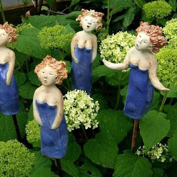 Keramikfiguren fimo und keramik for Gartenfiguren aus keramik