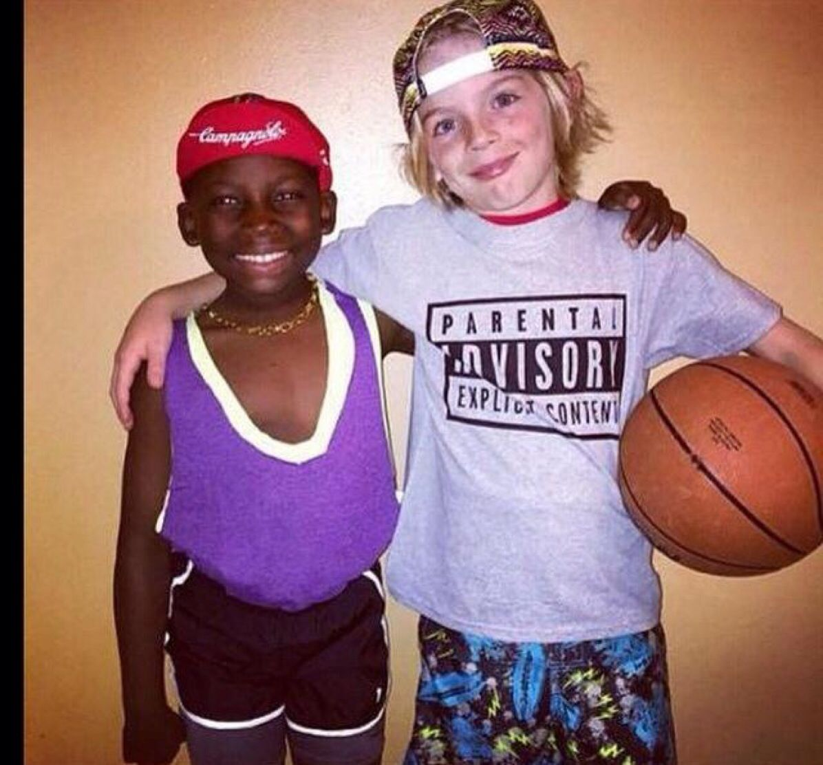 Kids version of White Men Can't Jump | Great Halloween Costumes ...