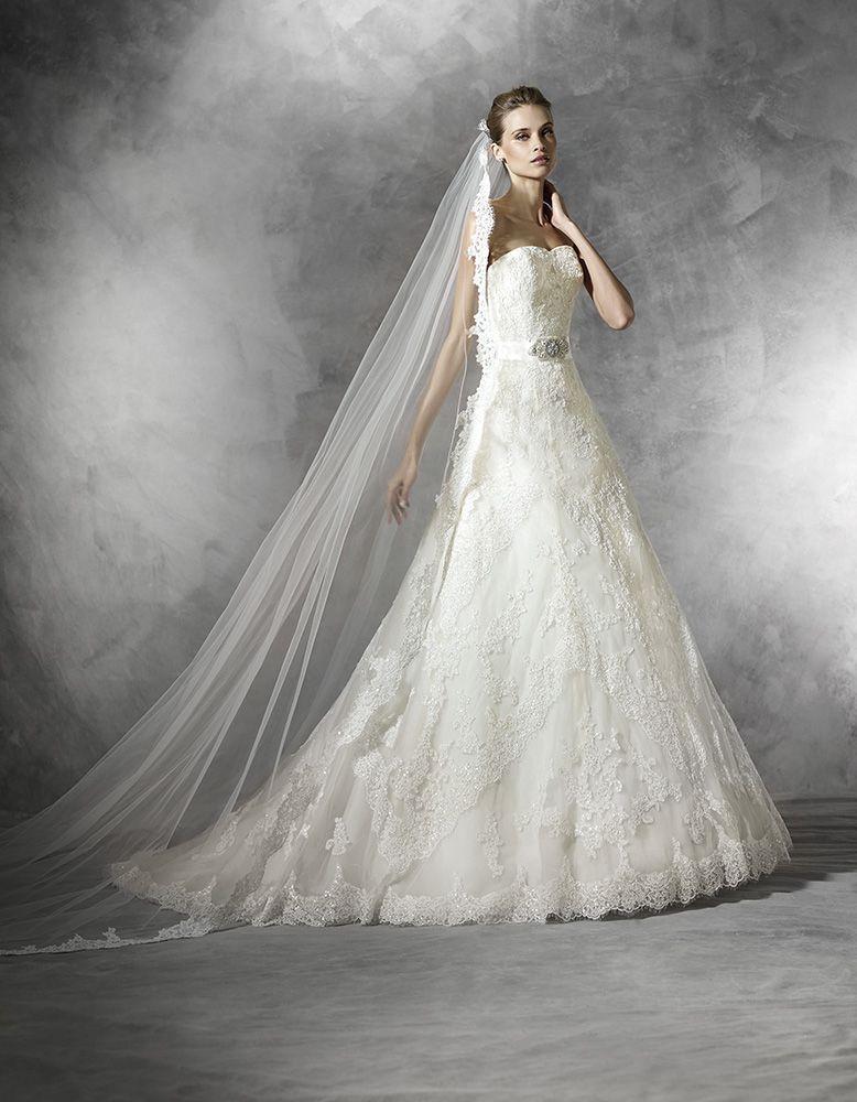 Basma esküvői ruha - La Mariée esküvői ruhaszalon - Pronovias 2015 ... 9aa7bd10da