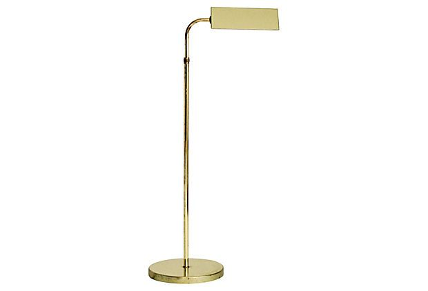 Tent shade brass pharmacy floor lamp for sale at tent shade brass pharmacy floor lamp mozeypictures Choice Image