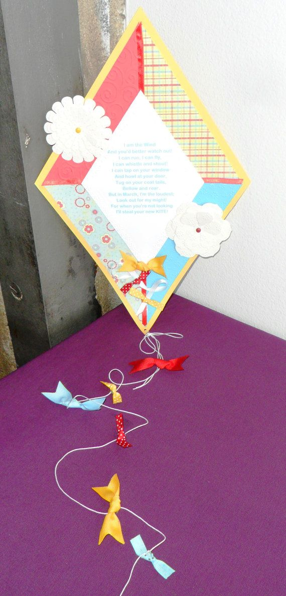 Kite party package with banner large poem