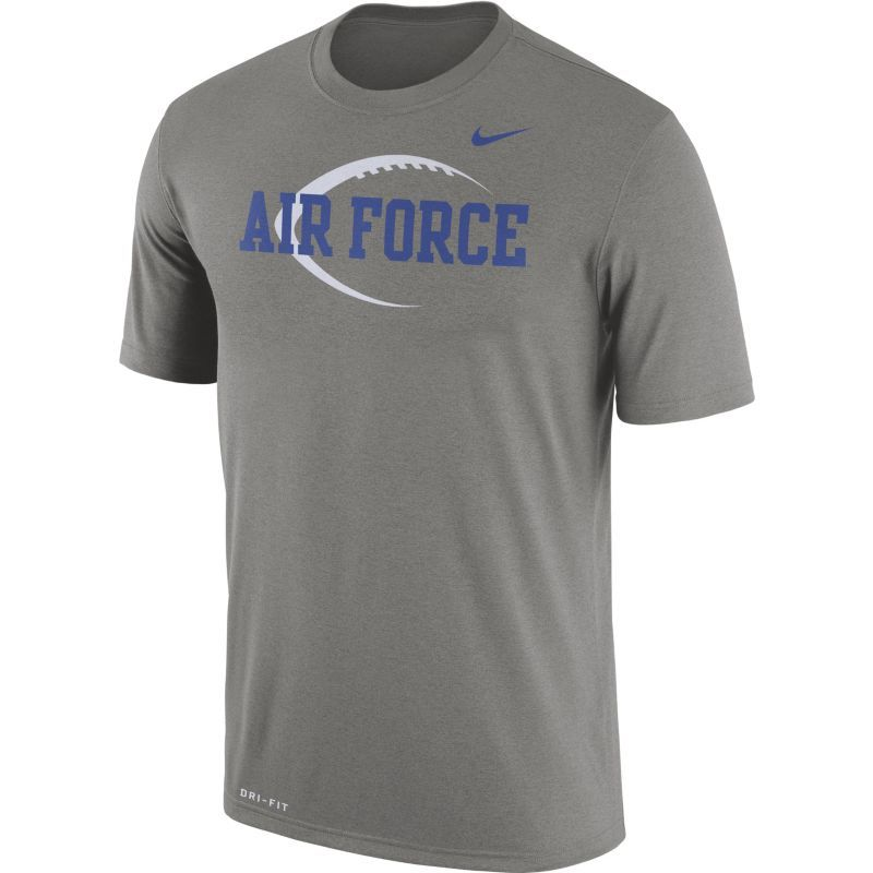4d6394b00677 Nike Men s Air Force Grey Football Icon Legend T-Shirt