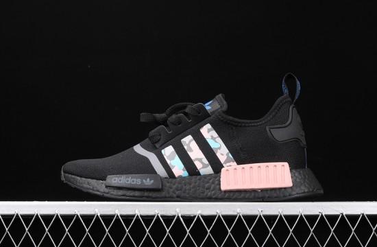 Adidas NMD R1 Black Pink Camo | Adidas