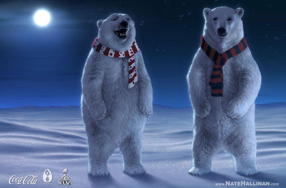 cocacola polar bear wallpaper coca cola polar bear