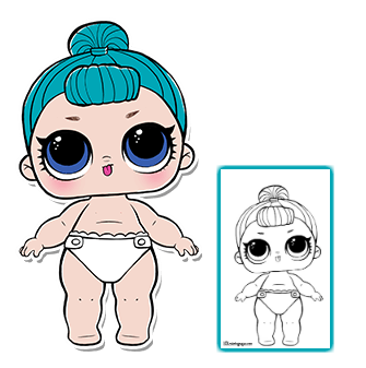 Lil Bb Bop Coloring Page Lol Surprise Doll Coloring Pages Lol Dolls Paper Dolls Doll Party