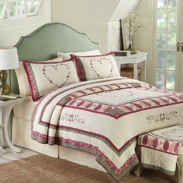 Our Destiny quilt design features romantic ambiance, with a ... : cracker barrel quilts for sale - Adamdwight.com