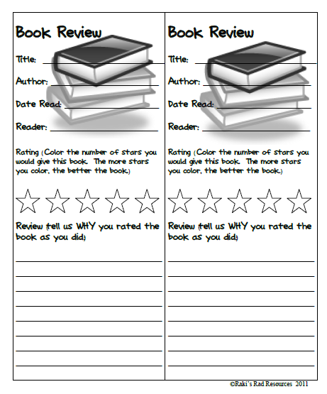 Book Review Bookmarks  Book Review Bookmarks And Books
