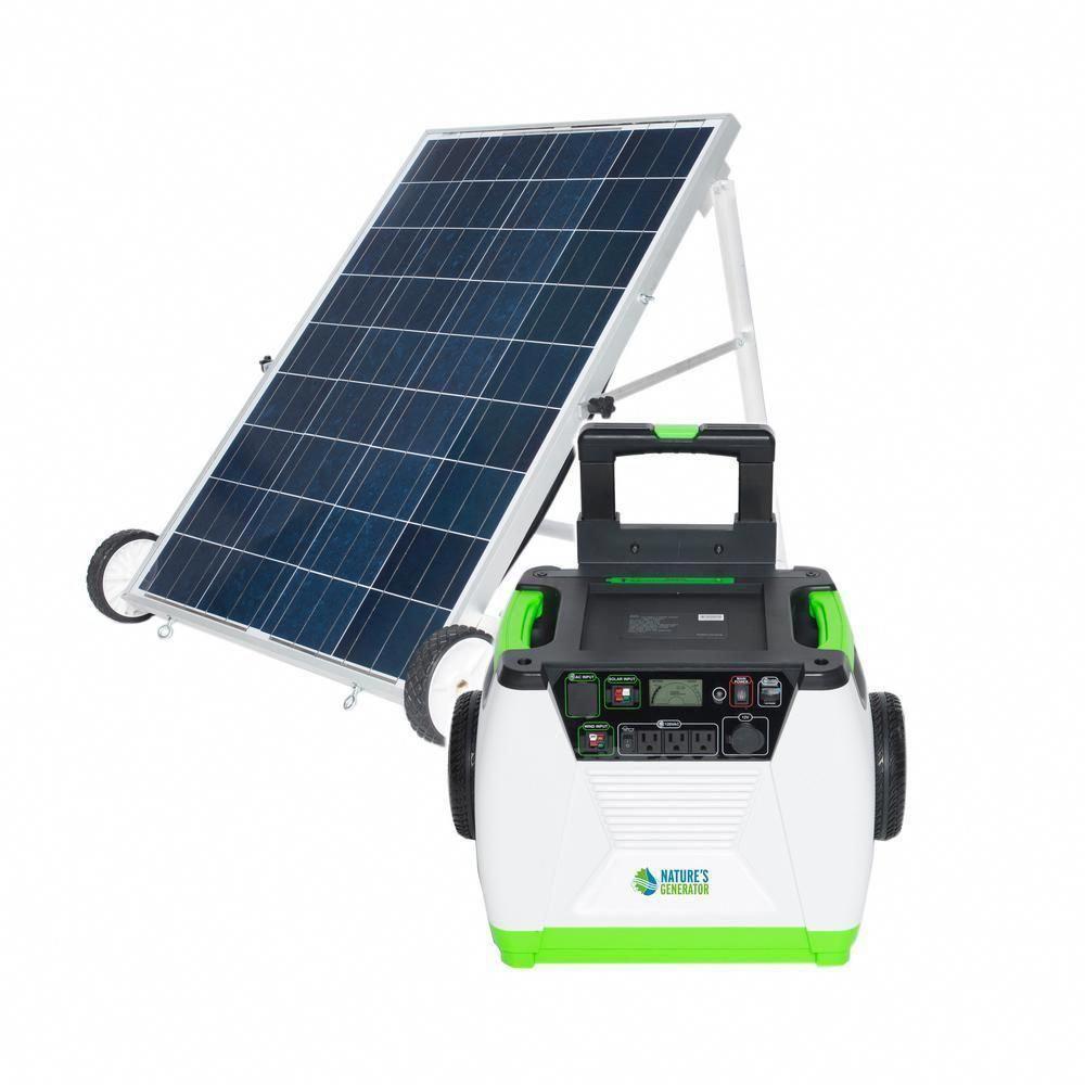 1800 Watt Solar Powered Portable Generator With Electric Start Solarpanels Solarenergy Solarpowe In 2020 Solar Energy Panels Best Solar Panels Solar Powered Generator