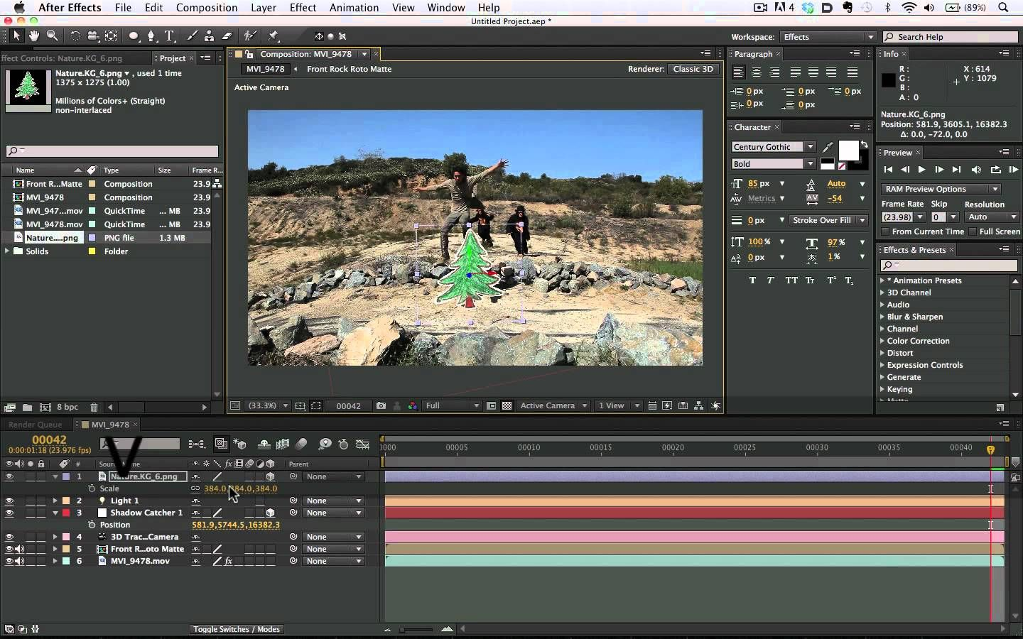 After Effects Cs6 3d Camera Tracking After Effects After