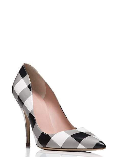 Womens High Heels Kate Spade New York Dana Patent Ornament Pumps Black Heels BLACK 2016 Sale Outlet