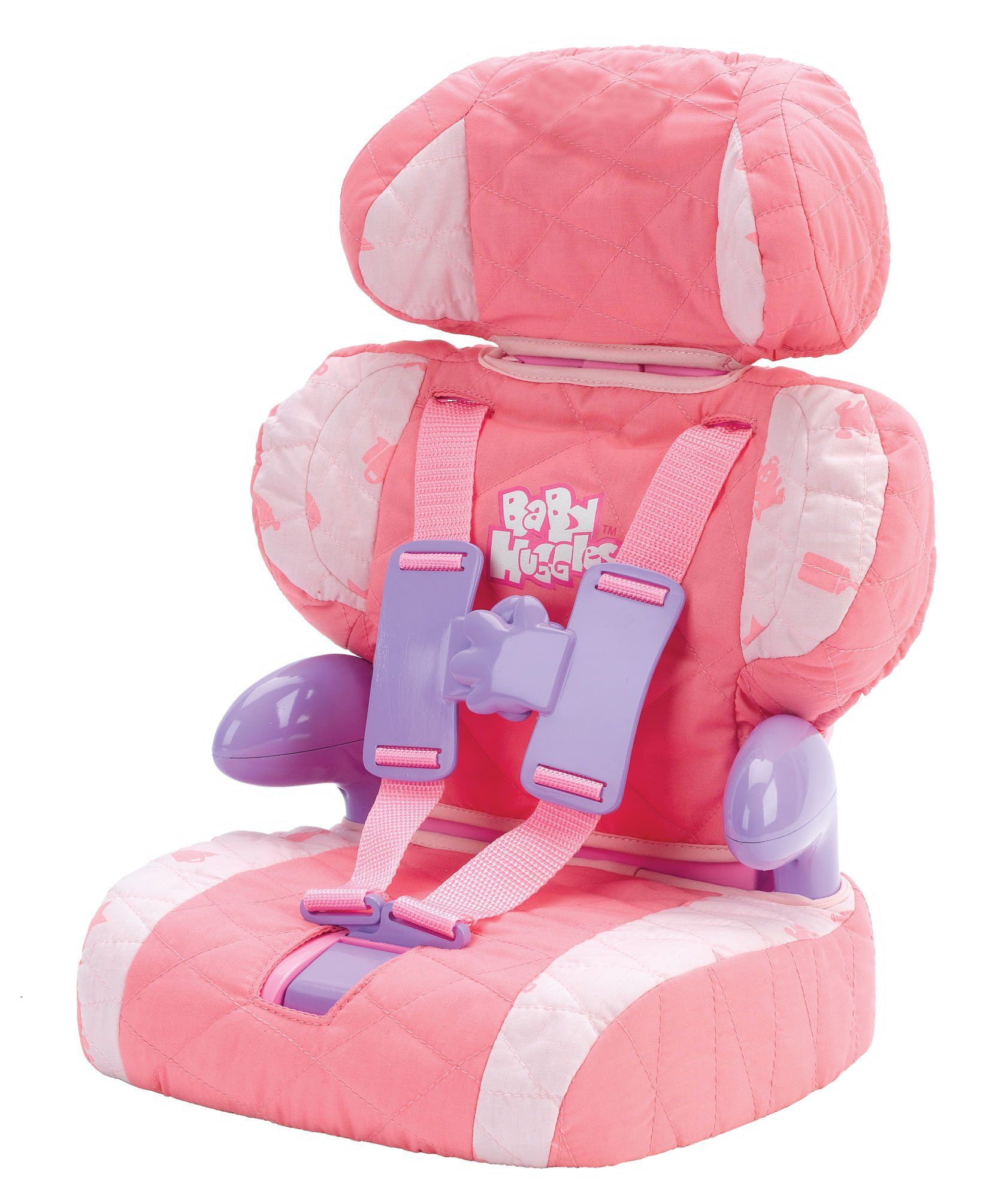 Doll Car Seat and Booster with Seatbelt for Dolls and