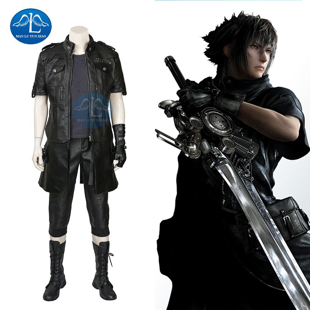 MANLUYUNXIAO Final Fantasy XV Noctis Lucis Caelum Cosplay Costume