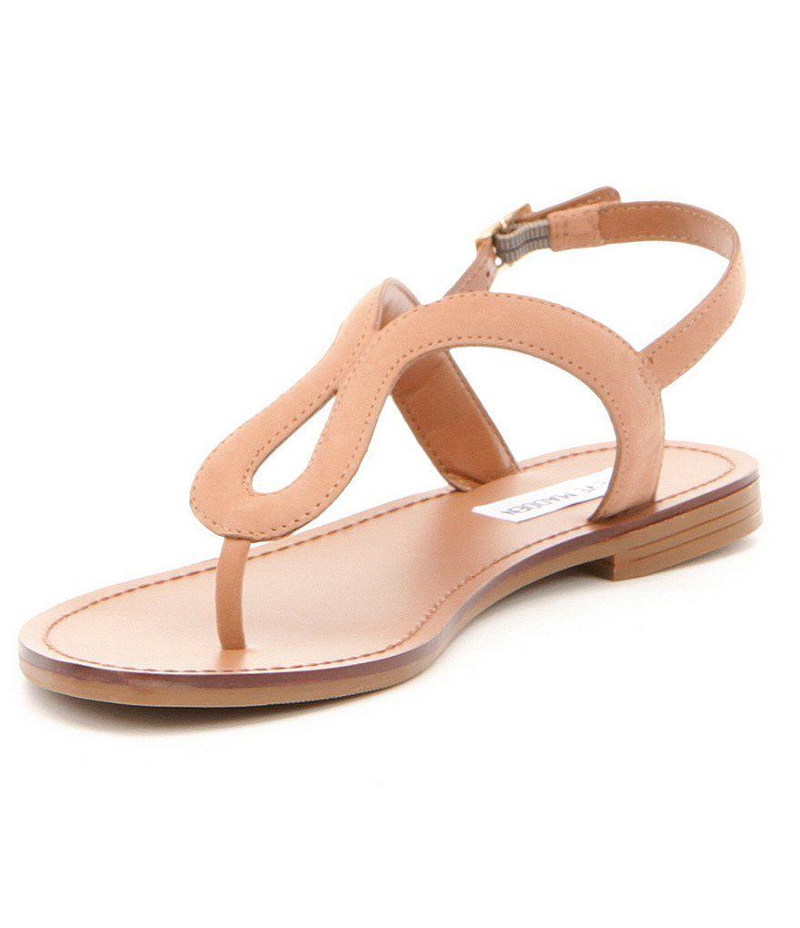 64439cfdc4cd59 Camel Steve Madden Takeaway Ankle Strap Sandals