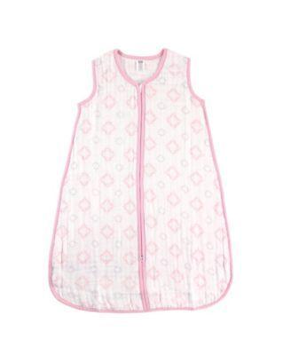 Hudson Baby Wearable Safe Sleep Muslin Sleeping Bag