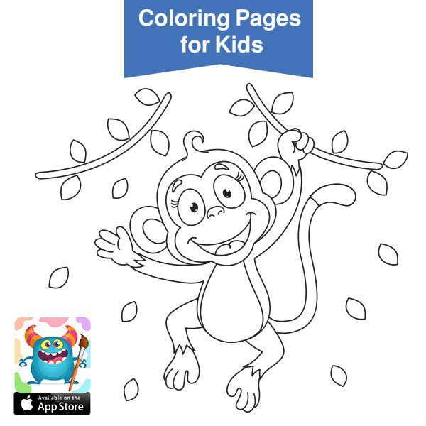 صور حيوانات للتلوين رسومات اطفال رسومات حيوانات الغابه للتلوين بالعربي نتعلم Free Printable Coloring Sheets Coloring Pages Free Coloring Pages