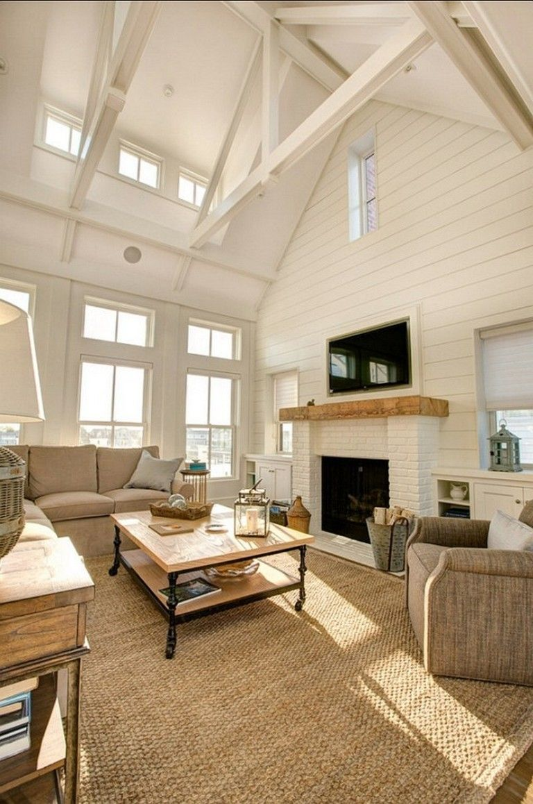 Elegant Home That Abounds With Beach House Decor Ideas: Decor Home Living Room, Home Living Room, White