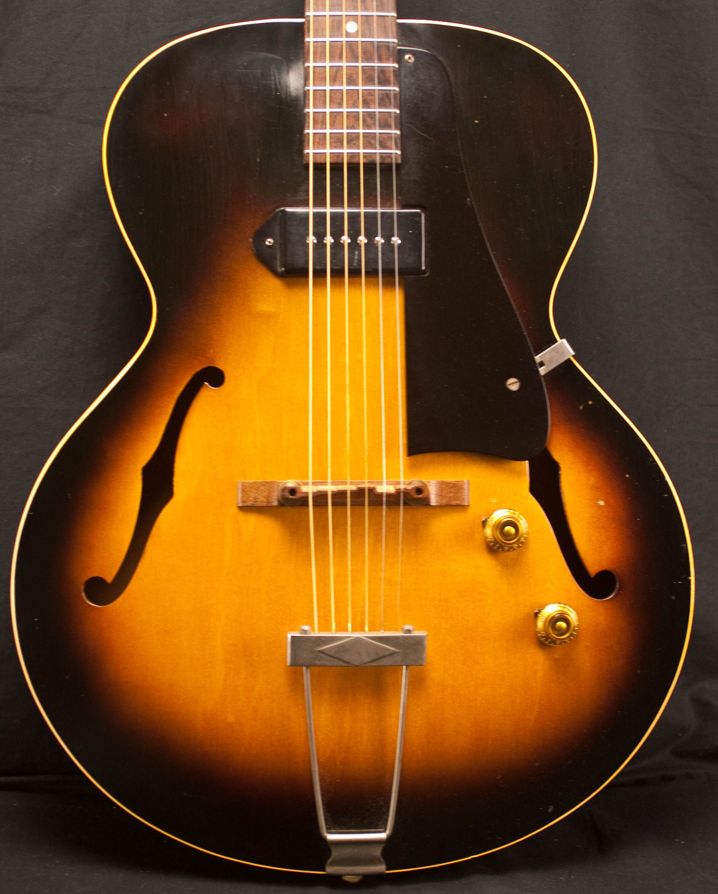 Gibson 1950 S Es125 Archtop Guitar Soundpure Com Guitar Vintage Electric Guitars Gibson Electric Guitar